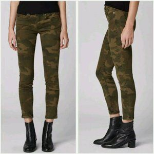 BLANK NYC The Reade Crop Skinny Jeans Green 27